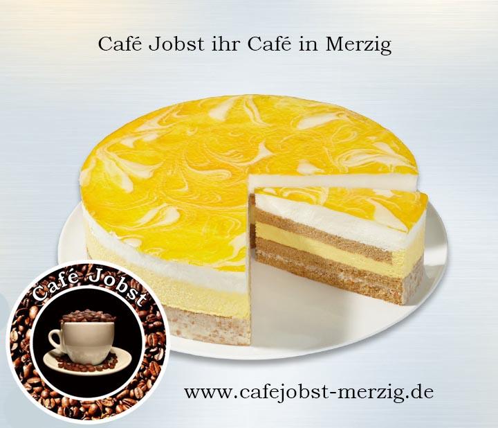 Mango Joghurt Crunch Torte Cafe Jobst