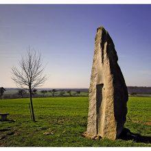 Stein an der Grenze